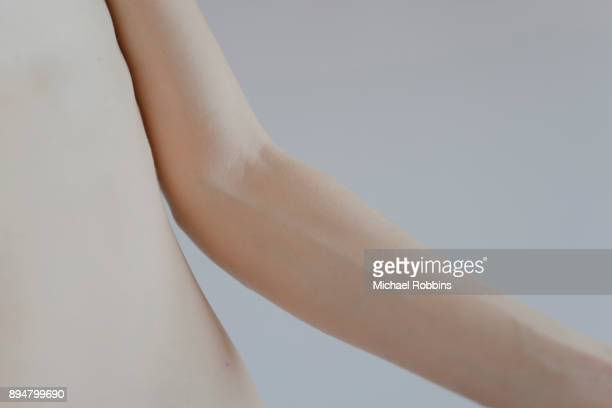 The Elbow of a Female Model