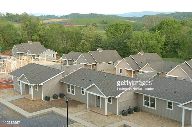 The Elderspirit Community founded by FOCIS has a view of the mountains Abingdon Virginia May 9 2006