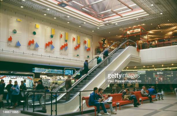 The Eldon Square Shopping Centre in Newcastle upon Tyne UK 1987