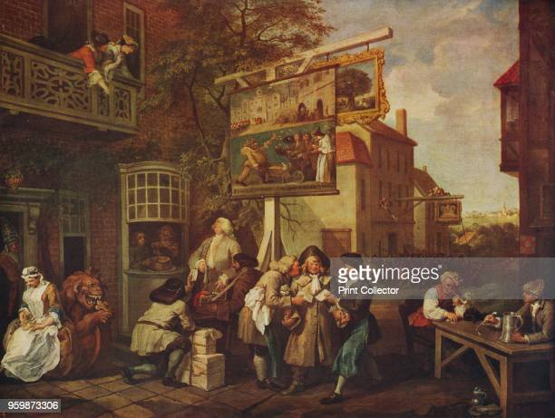 Canvassing for Votes' 17541755 The painting held by Sir John Soane's Museum London From International Art Past and Present by Alfred Yockney [Virtue...