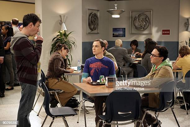 'The Electric Can Opener Fluctuation' Barry Kripke returns as Sheldon and LeonardOtildes University colleague on the season three premiere episode of...