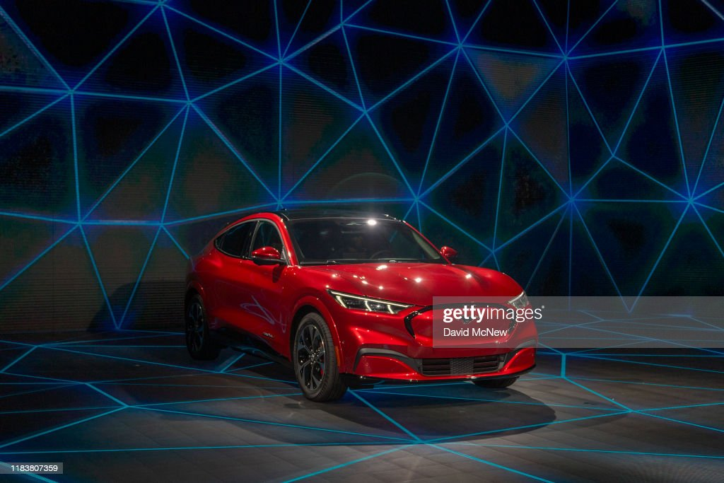Car Manufacturers Show Off Their Latest Models At Los Angeles Auto Show : News Photo