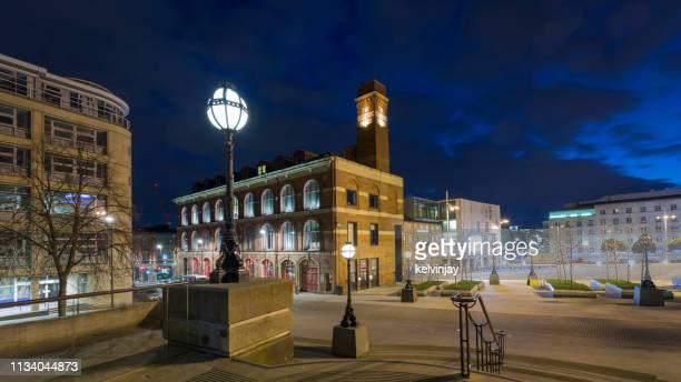 el edificio electric press en millennium square, leeds - leeds city centre fotografías e imágenes de stock
