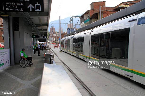 The electric tramline in Medellín during the day of its inauguration On October 17 of 2015 Medellin inaugurated the first electric tram line It is...