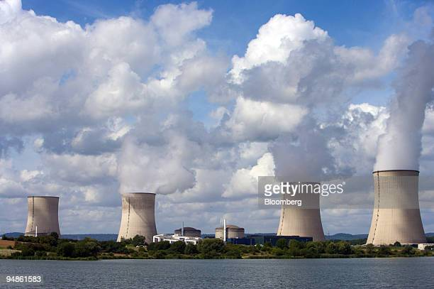 The Electricite de France or EDF Cattenom nuclear power plant operates near Cattenom France on Thursday Aug 14 2008 The plant spilled water with a...