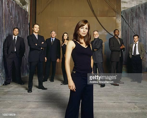 101062_0025 ALIAS The electrifying Emmy Award winning spy drama ÒAliasÓ returns for an emotionally gripping fourth season Jennifer Garner stars in...