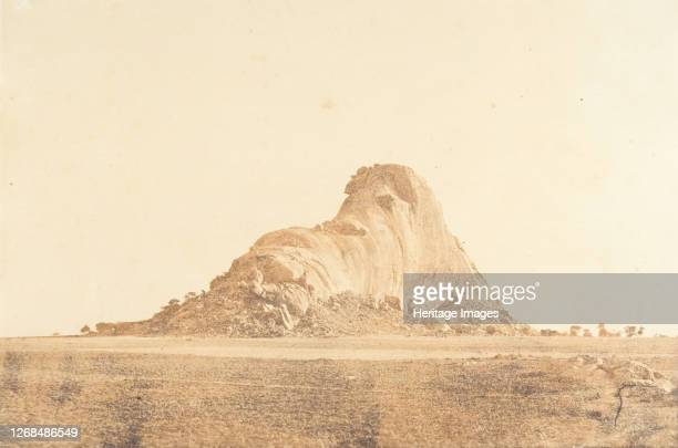 The Elephant Rock JanuaryFebruary 1858 Artist Captain Linnaeus Tripe
