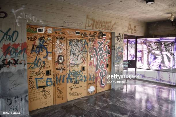 The elevator of student residence In a miserable condition the student residence in Zografou area in Athens The building has shared showers and...