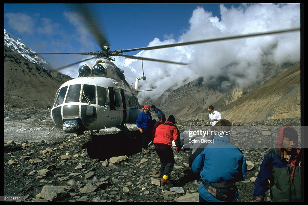 T.HUMAR'S ASCENT OF SOUTH FACE OF DHAULAGIRI : News Photo