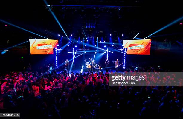 The Eli Young Band performs at the 'Reba and Friends Outnumber Hunger' concert event on Tuesday March 31 2015 in Burbank California Tune in starting...