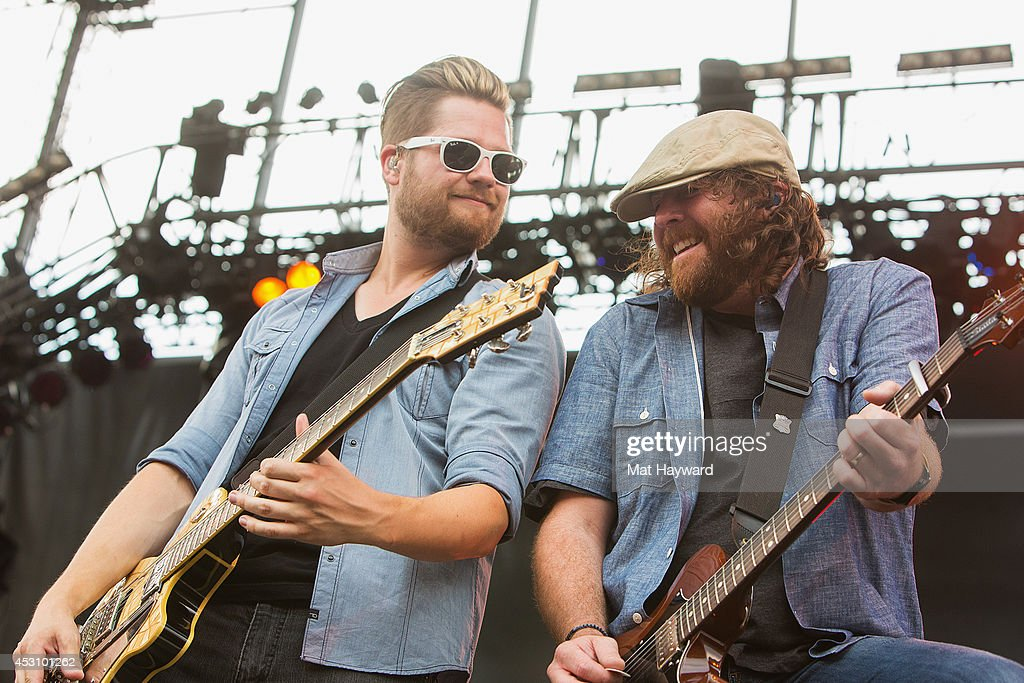 The Eli Young Band performs during the Watershed Music Festival at The Gorge on August 2, 2014 in George, Washington.