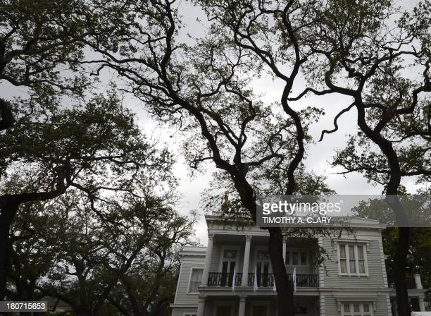 The Elm Mansion along the St Charles streetcar line in New Orleans Louisiana February 4 which travels from the edge of the French Quarter all the way...