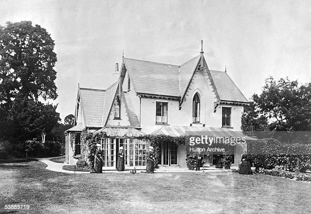 The Elms a typical Victorian country house 1867