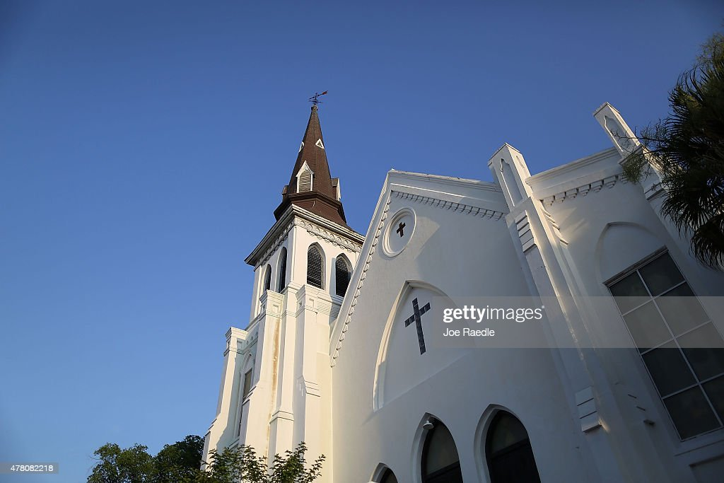 Charleston In Mourning After 9 Killed In Church Massacre : News Photo