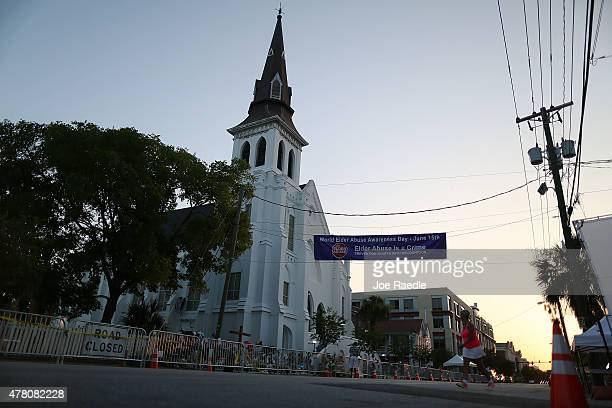The Emanuel African Methodist Episcopal Church is seen after a mass shooting five days ago that killed nine people on June 22 2015 21yearold Dylann...