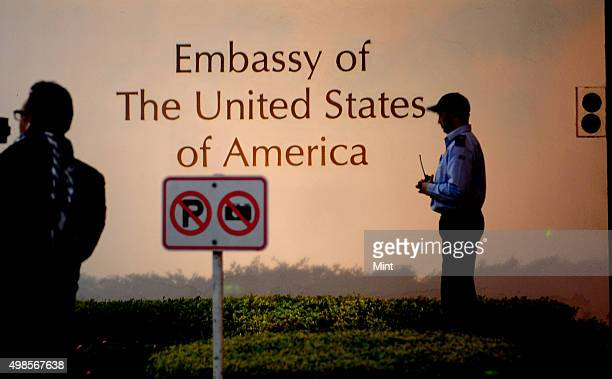 The Embassy of The United States of America on December 17 2013 in New Delhi India