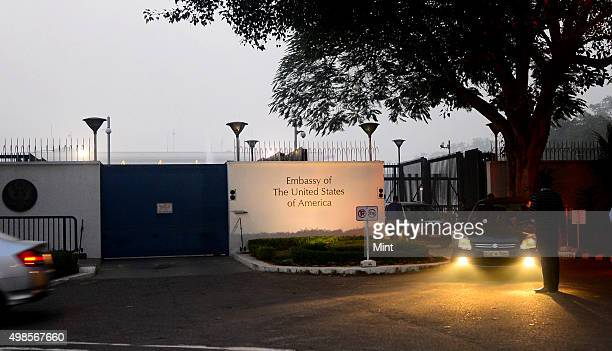 The Embassy of The United States of America on December 17, 2013 in New Delhi, India.