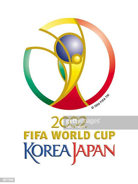 The emblem of the 2002 Federation Internationale de Football Association World Cup features a stylized depiction of the FIFA World Cup trophy inside...