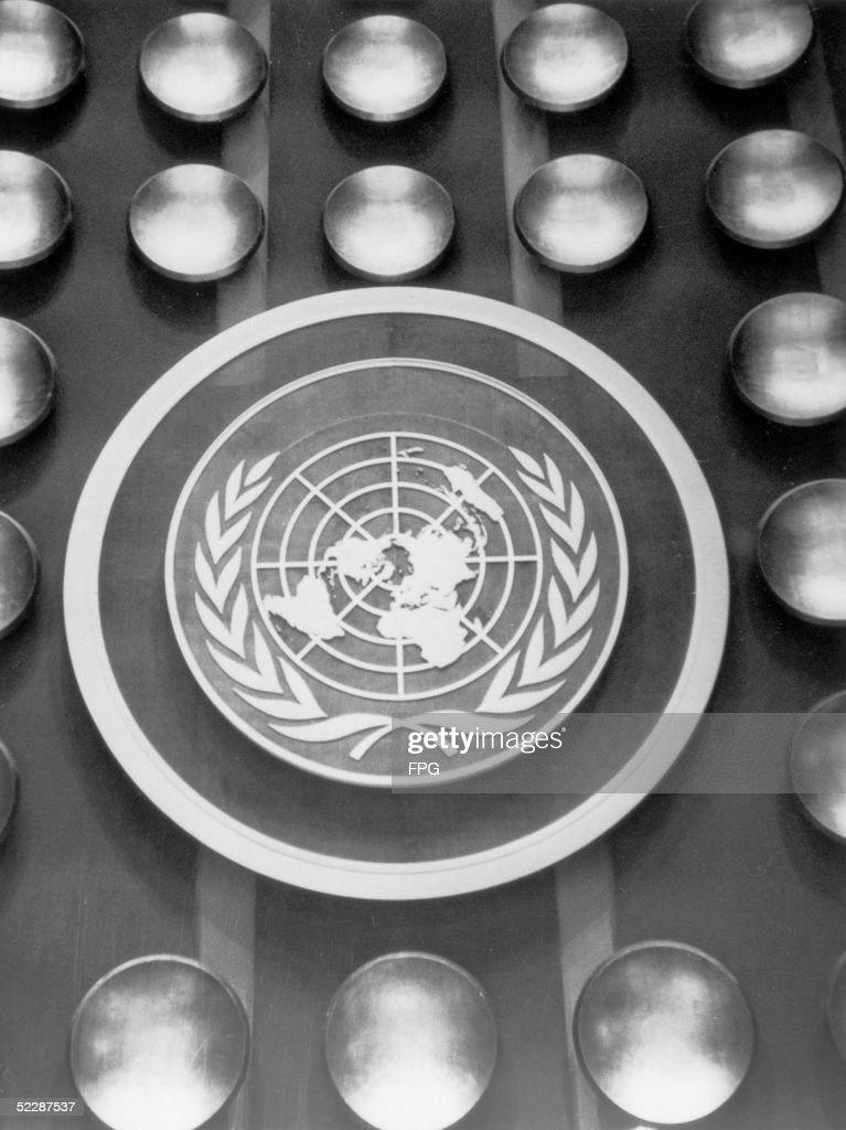 UN United Nations Black Clock