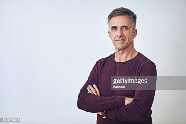 the embodiment of self confidence - one mature man only stock pictures, royalty-free photos & images