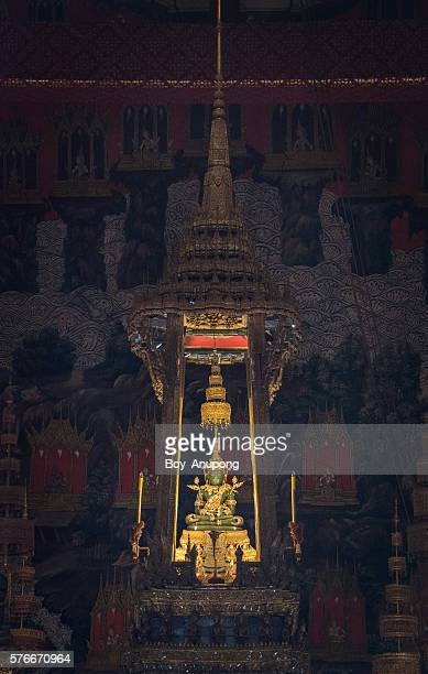The Emerald Buddha is considered the palladium of the Kingdom of Thailand.