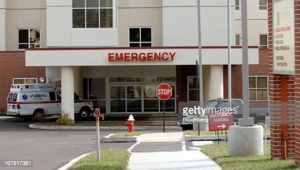 The emergency area of Community Health's Phoenixville Hospital stands in Phoenixville Pennsylvania US on Friday Dec 10 2010 Community Health Systems...