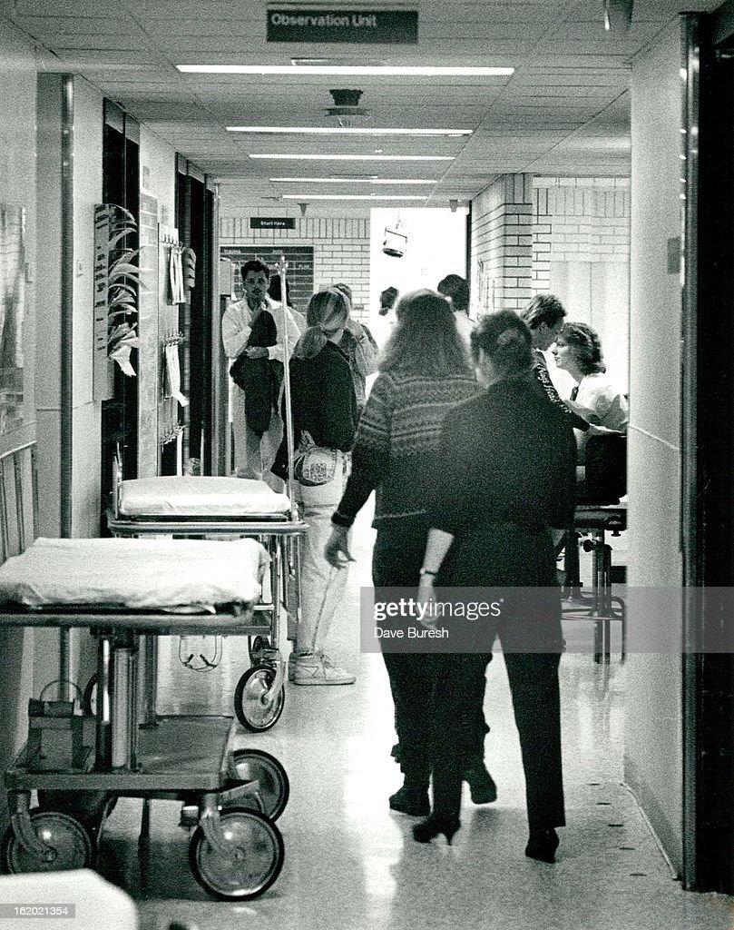 NOV 1 1989; The Emergency Room at Denver General Hospital; The ...