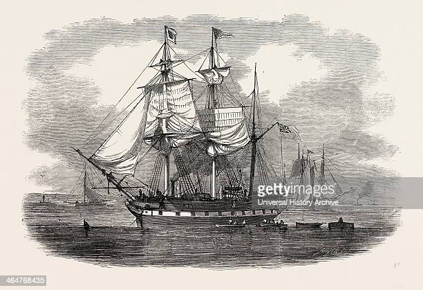 The Emigrant Ship artemisia Bound For Moreton Bay New South Wales 1848