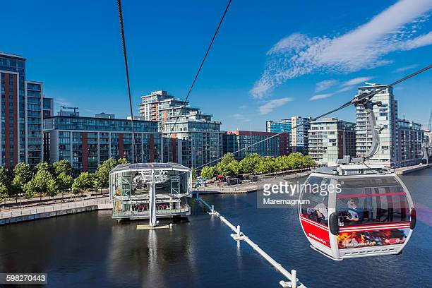 The Emirates Air Line, London's cable car