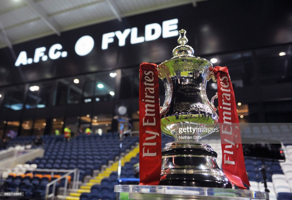 AFC Fylde v Wigan Athletic - The Emirates FA Cup Second Round : News Photo