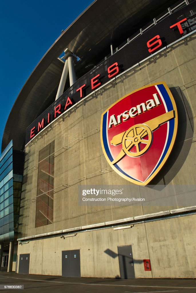 The Emirates Stadium in Ashburton Grove, north London, is the home of Arsenal Football Club. The stadium opened in July 2006, and has an all-seated capacity of 60,432, making it the second largest stadium in the Premiership after Manchester United's Old : News Photo