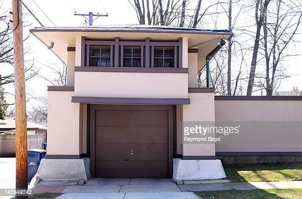Architect Frank Lloyd Wright Designed Stock Photos and Pictures ...