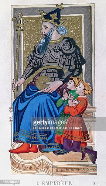 The Emperor Charles VI tarot France