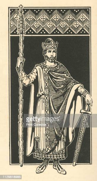 "'The Emperor Henry II, The Holy ', 1924. From ""Costume & Fashion - The Evolution of European Dress Through the Earlier Ages"", by Herbert Norris. [J...."