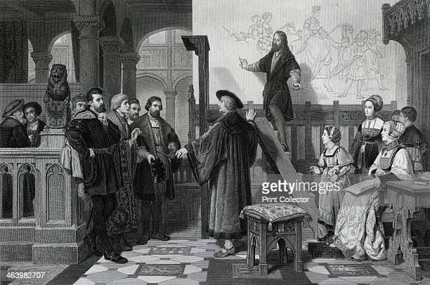 The Emperor Maximilian and Albrecht Durer early 16th century German artist Albrecht Durer is visited by the Emperor Maximilian I while painting a...