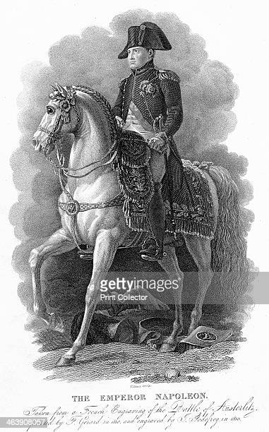 'The Emperor Napoleon' 1805 Napoleon I Emperor of France from 1804 pictured at the Battle of Austerlitz 2 December 1805