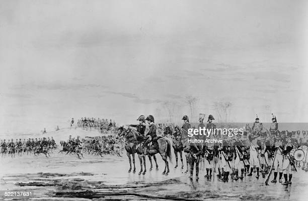 The Emperor Napoleon Bonaparte and the French Grande Armee defeats the Imperial RussoAustrian army commanded by Tsar Alexander I and Holy Roman...