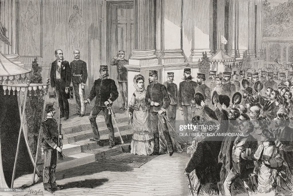 The Emperor of Germany, William I : News Photo