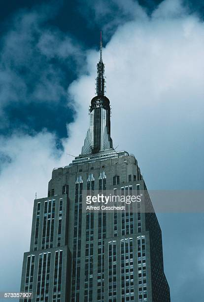 The Empire State Building in Manhattan New York City October 1986