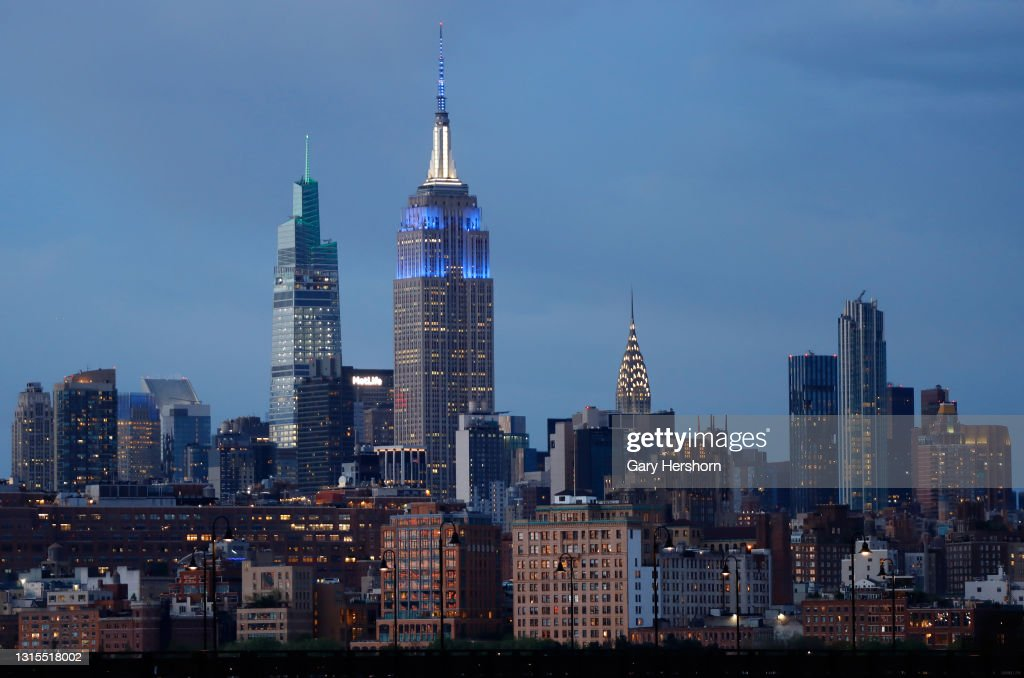 Empire State Building in New York City : News Photo