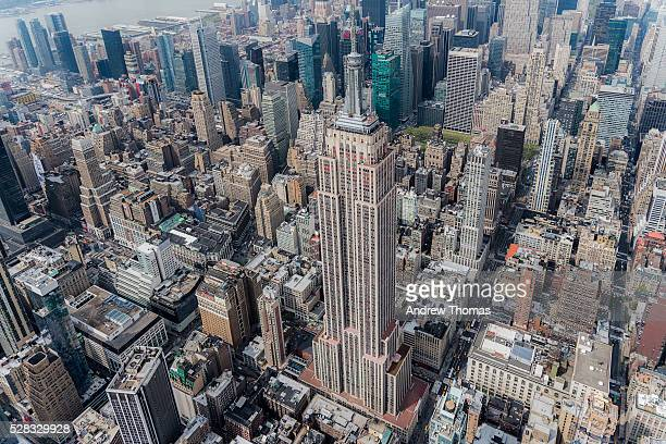 the empire state building - empire state building stock pictures, royalty-free photos & images