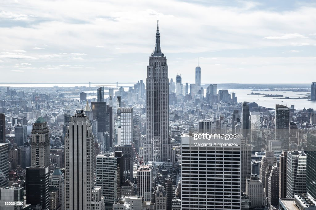 The Empire State Building : Stock Photo