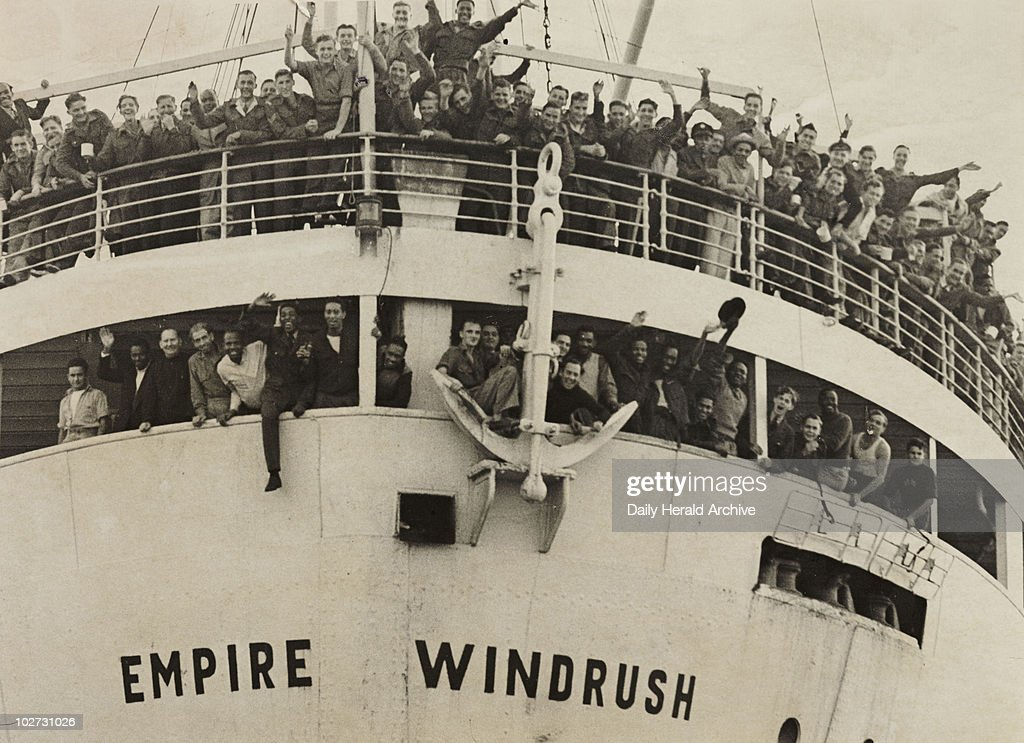 The 'Empire Windrush' arriving from Jamaica, 1948. A photograph of the 'Empire Windrush' at Tilbury docks, having sailed from Australia via Jamaica, taken by Jones for the Daily Herald newspaper on 21 June, 1948. During the war, thousands of men and women from the Caribbean had served in the armed forces. When the 'Empire Windrush' stopped in Jamaica to pick up servicemen, many people, having seen the 'Daily Gleaner' newspaper advertising the journey for £28.10, decided to travel to Britain. On 24 May the ship left Kingston, Jamaica with nearly 500 passengers. It docked at Tilbury on 21 June 1948. This photograph has been selected from the Daily Herald Archive, a collection of over three million photographs. The archive holds work of international, national and local importance by both staff and agency photographers.