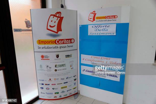 The emporium of Solidarity of the diocesan Caritas of Rome to Casilino Bridge a supermarket for families in need The Emporium a supermarket with the...