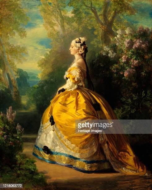 The Empress Eugénie , 1854. Artist Franz Xaver Winterhalter.