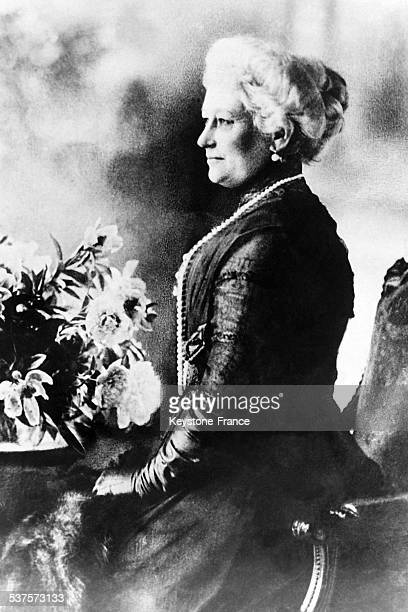 The empress of Germany Augusta Victoria wife of Kaiser Wilhelm II circa 1920