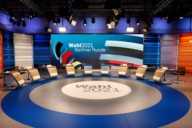 DEU: Lead Candidates Meet For Televised Discussion Following Initial Election Results