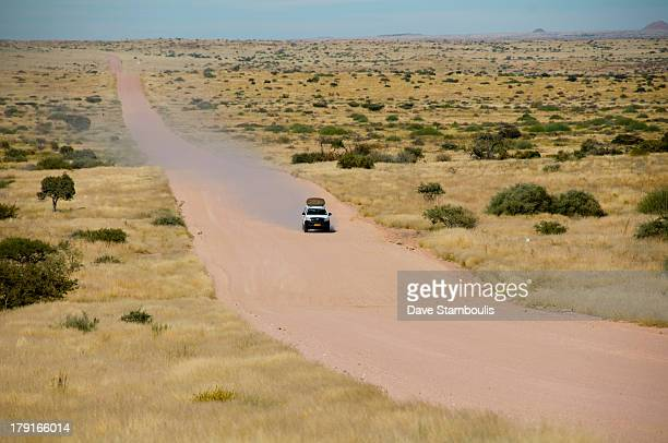 CONTENT] the empty roads of Damaraland Namibia