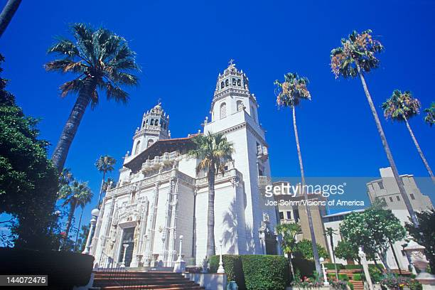 The Enchanted Hill and Casa Grande at Hearst Castle San Simeon Central Coast California