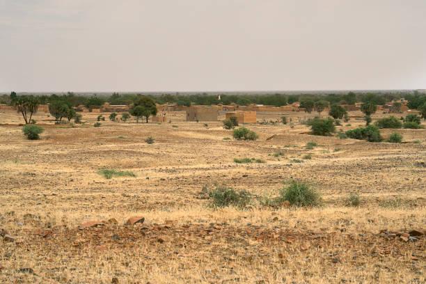The enchanting beauty of the Burkina Faso's natural landscape. Sahel Region of Burkina Faso.